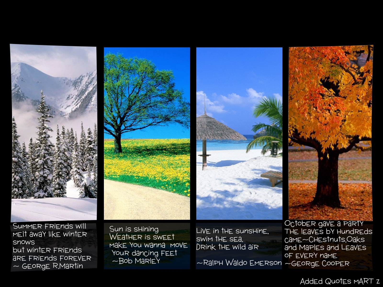Seasons Of Life Quotes Seasons  Cryominute Eclectic Avenue