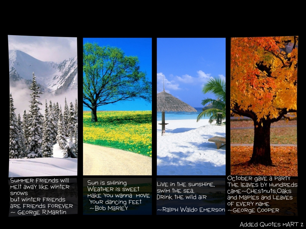 A Time for Every Season (2/4)