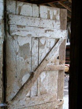 What is behind the door ?