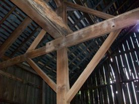 Wooden Barn Beams