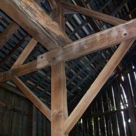 Wooden Barn Beams