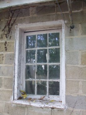 Window to Milk Room